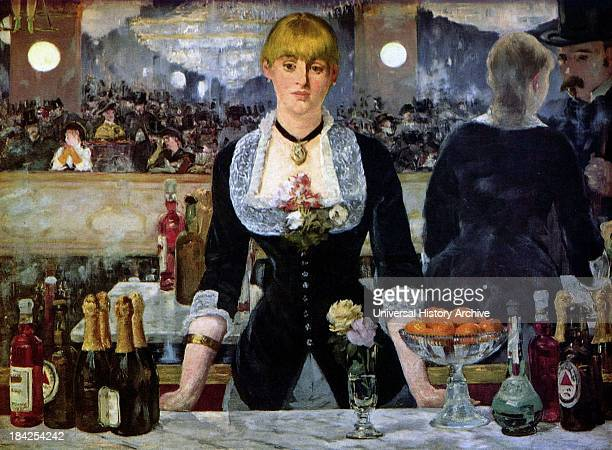 A Bar at the FoliesBergère painted and exhibited at the Paris Salon in 1882 It depicts a scene in the Folies Bergère nightclub in Paris and was the...