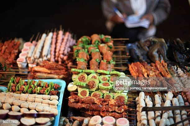 bar b que stall  - sapa stock pictures, royalty-free photos & images