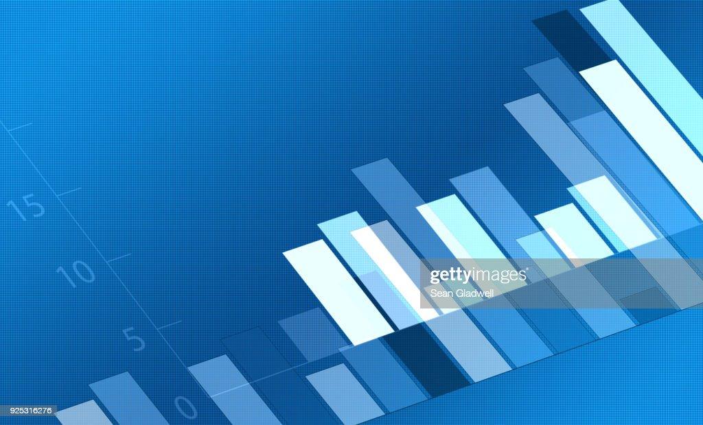 Bar chart : Stock-Foto