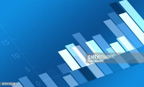 bar chart - hinauf bewegen stock-fotos und bilder