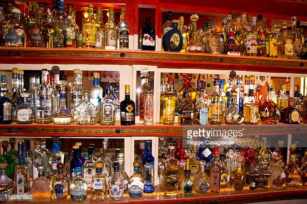 bar full of tequila - drunk mexican stock pictures, royalty-free photos & images