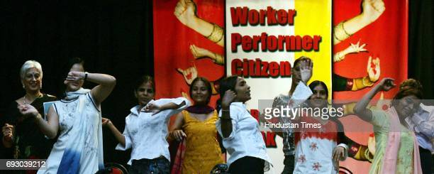 Bar girls dance to celebrate decision of jury consisting of academicians filmmakers performers journalists and trade unionists to lift Government's...