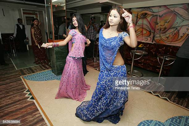 Bar girls perform at a dance bar in Andheri on July 21 2005 in Mumbai India