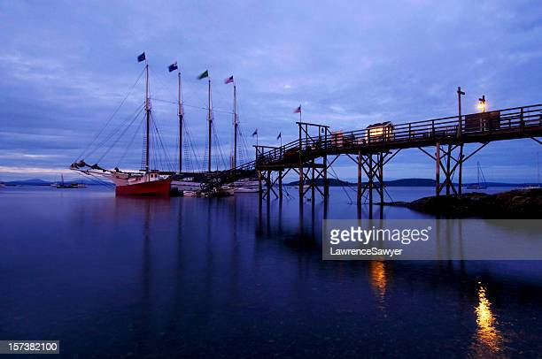 bar harbor, maine - bar harbor stock photos and pictures