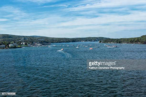 bar harbor maine - bar harbor stock photos and pictures