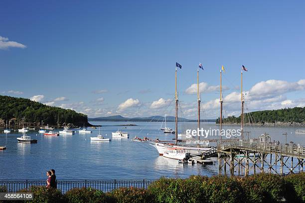 bar harbor - bar harbor stock photos and pictures