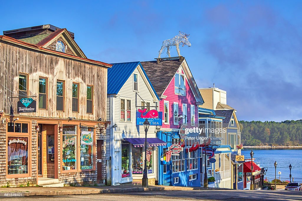 Bar Harbor,Acadia National Park,Maine : Stock Photo