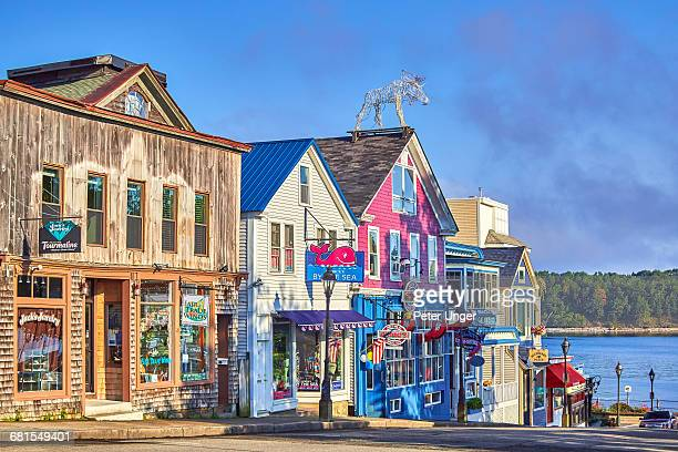 bar harbor,acadia national park,maine - maine stock pictures, royalty-free photos & images
