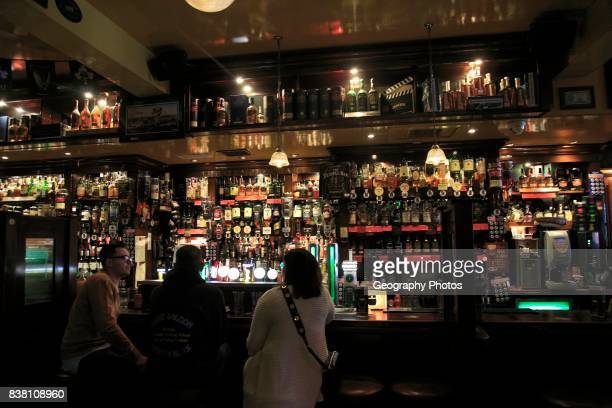 A bar inside the Temple Bar pub Dublin city center Ireland Republic of Ireland