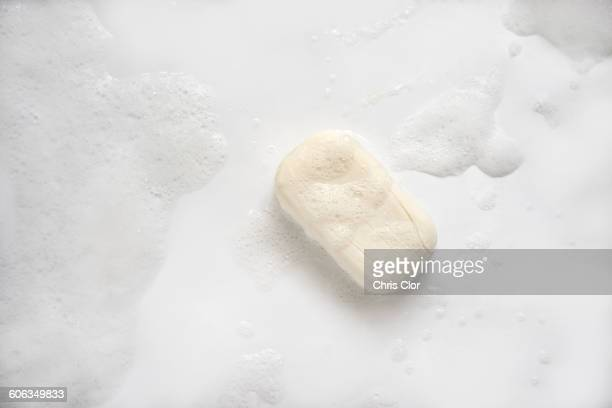 Bar of soap on floor
