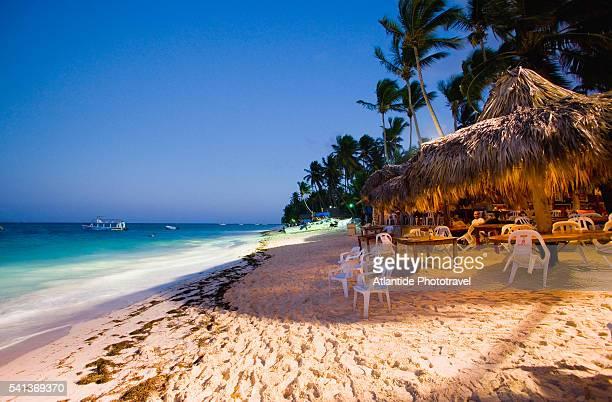 Bar on El Cortecito Beach