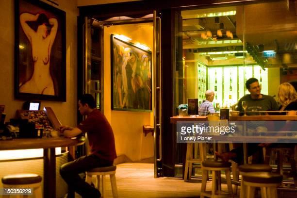 Bar on Knutsford Terrace.