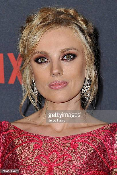 Bar Paly arrives at the 2016 Weinstein Company and Netflix Golden Globes After Party on January 10 2016 in Los Angeles California