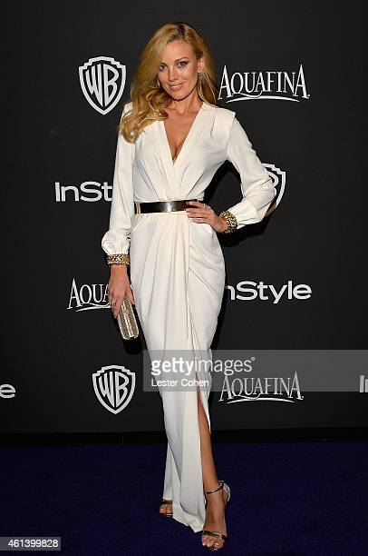 Bar Paly attends the 16th Annual Warner Bros and InStyle PostGolden Globe Party at The Beverly Hilton Hotel on January 11 2015 in Beverly Hills...