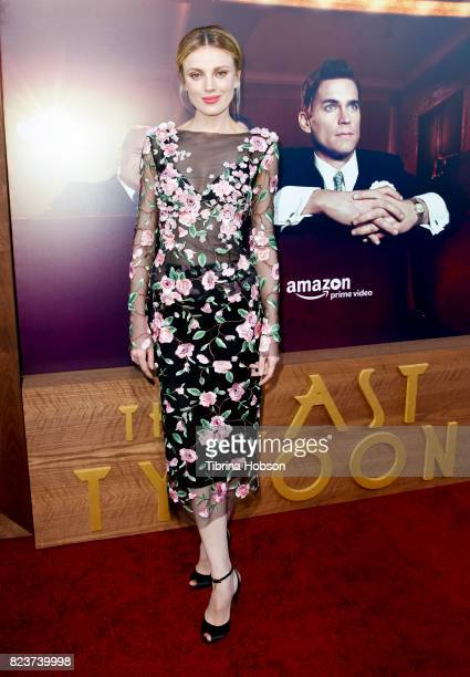 Bar Paly attends the premiere of Amazon Studios 'The Last Tycoon' at the Harmony Gold Preview House and Theater on July 27 2017 in Hollywood...
