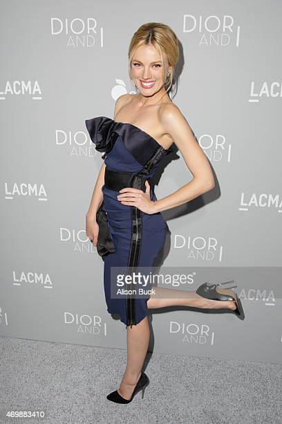 Bar Paly attends the Premiere Of The Orchard's 'DIOR I' Arrivals at LACMA on April 15 2015 in Los Angeles California