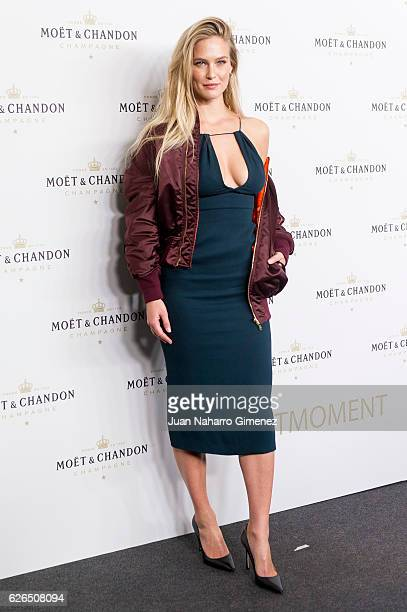 Bar Rafaeli attends the 'Moet Chandon' New Year's Eve party at Florida Retiro on November 29 2016 in Madrid Spain