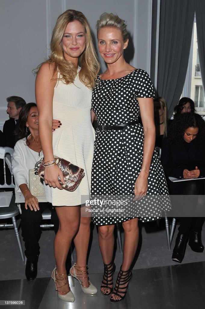 Dior: Arrivals - Paris Fashion Week Haute Couture S/S 2012