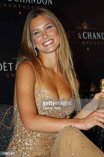 Bar Refaeli at the Bar Refaeli Launches the New Mot Chandon 'Star of the Night' Bottle September 18 2006 at Moet Chandon Room in Madrid