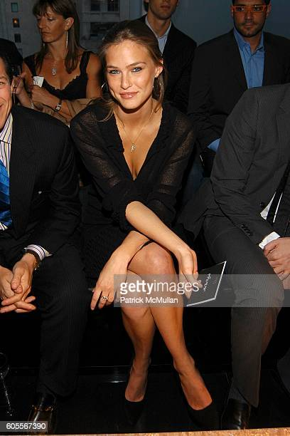 Bar Refaeli attends DIOR 2007 Cruise Collection Dinner Party hosted by Bernard Arnault and Sidney Toledano at The Four Seasons Restuarant on May 16...