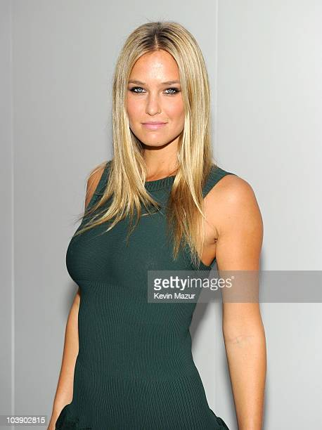 Bar Refaeli attends Fashion's Night Out: The Show at Lincoln Center on September 7, 2010 in New York City.