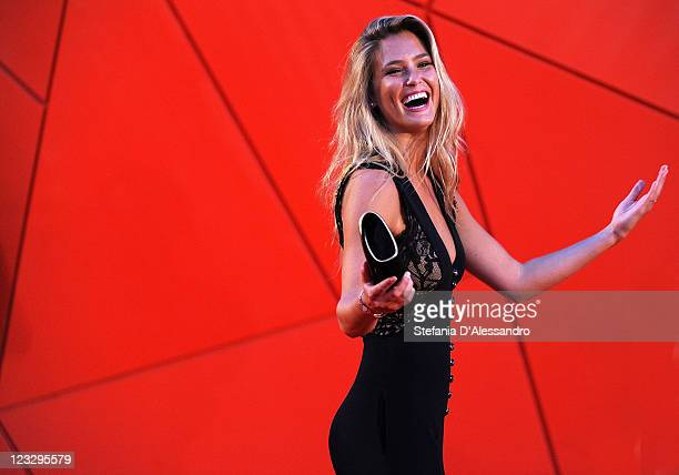 Bar Refaeli attends the 'Carnage' Premiere at the Palazzo Del Cinema during the 68th Venice Film Festival on September 1, 2011 in Venice, Italy.