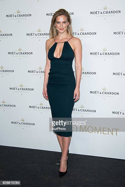 Bar Refaeli attends the Moet Chandon party photocall at Florida Retiro in Madrid on Nov 29 2016