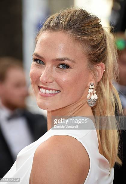 """Bar Refaeli attends the opening ceremony and premiere of """"La Tete Haute during the 68th annual Cannes Film Festival on May 13, 2015 in Cannes, France."""