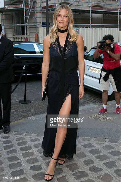 Bar Refaeli attends the 'VOGUE' party on July 6 2015 in Paris France