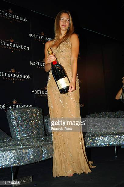 Bar Refaeli during Bar Refaeli Launches the New Moet Chandon 'Star of the Night' Bottle September 18 2006 at Moet Chandon Room in Madrid Spain