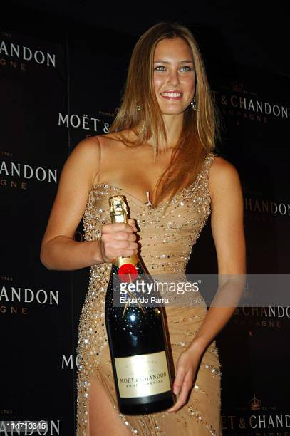 Bar Refaeli during Bar Refaeli Launches the New Moet Chandon Star of the Night Bottle September 18 2006 at Moet Chandon Room in Madrid Spain