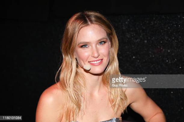Bar Refaeli during the 64th annual Eurovision Song Contest held at Tel Aviv Fairgrounds on May 18 2019 in Tel Aviv Israel