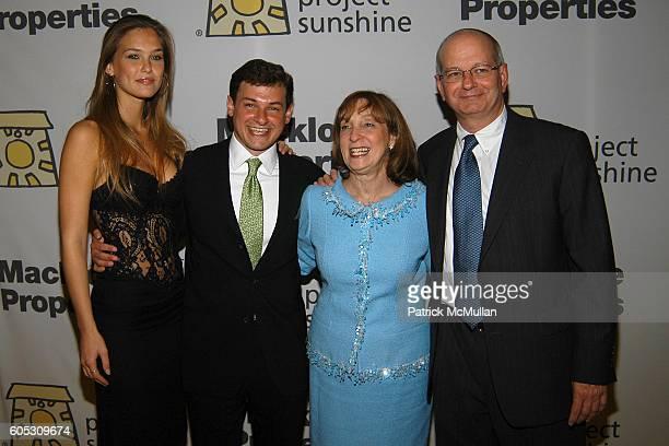 Bar Refaeli Joseph Weilgus Suzanne Weilgus and Stuart Weilgus attend PROJECT SUNSHINE Spring Gala Dinner honoring Billy Macklowe at Waldorf Astoria...