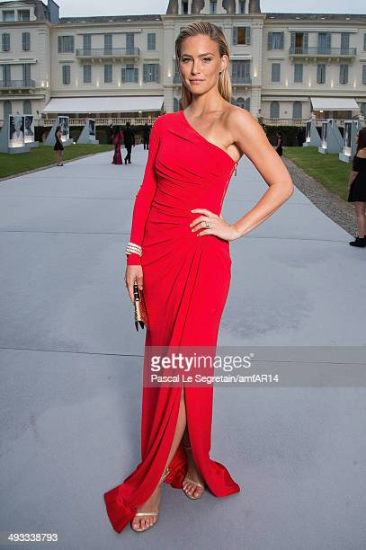 Bar Refaeli poses for a portrait at amfAR's 21st Cinema Against AIDS Gala Presented By WORLDVIEW, BOLD FILMS, And BVLGARI at Hotel du Cap-Eden-Roc on...