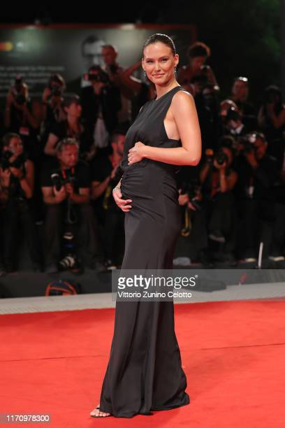 Bar Refaeli walks the red carpet ahead of the Ad Astra screening during during the 76th Venice Film Festival at Sala Grande on August 29 2019 in...