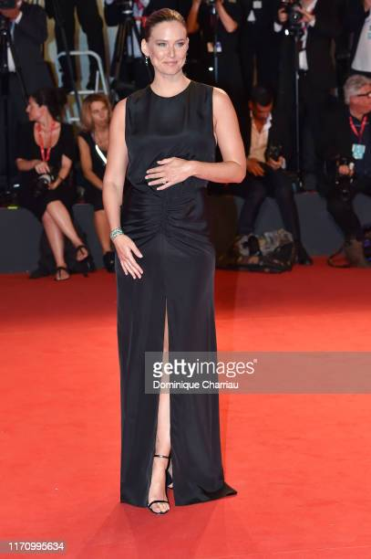 """Bar Refaeli walks the red carpet ahead of the """"Ad Astra"""" screening during during the 76th Venice Film Festival at Sala Grande on August 29, 2019 in..."""
