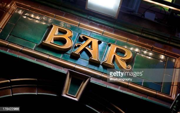 Bar Sign in Ireland