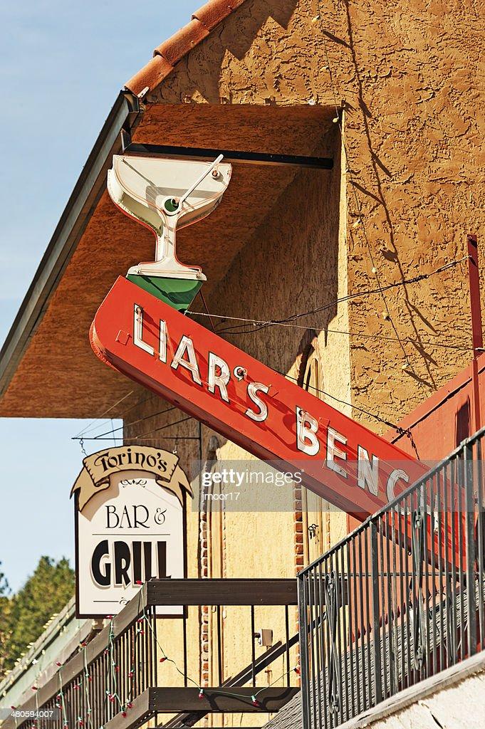 Bar signs : Stock Photo