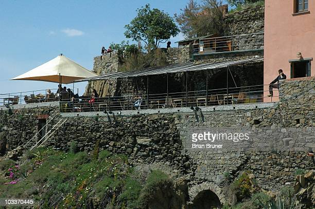 Bar & Vini A Pie de Ma is a restaurant and bar located on the coast in Riomaggiore, Italy. This town is a part of the Cinque Terre.