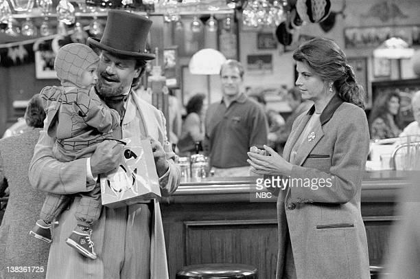 """Bar Wars V: The Final Judgement"""" Episode 7 -- Air Date -- Pictured: Christopher/Kevin Graves as Frederick Crane, Kelsey Grammer as Dr. Frasier Crane,..."""