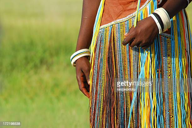 Barabaig Beaded Dress, Lake Manyara, Tanzania