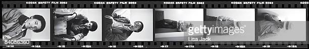 Barack Obama poses for a portrait session taken while he was a student in 1980 at Occidental College in Los Angeles CA Published images