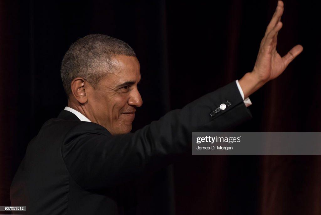 Barack Obama Speaks At Art Gallery Of NSW