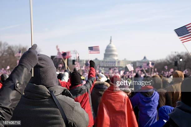Barack Obama's presidential inauguration in Washington DC