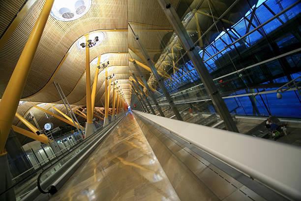 Barajas International Airport, Madrid, Spain