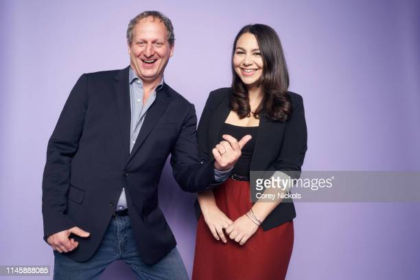 Barak Goodman and Jamila Ephron of the film 'Woodstock Three Days That Defined a Generation' poses for a portrait during the 2019 Tribeca Film...