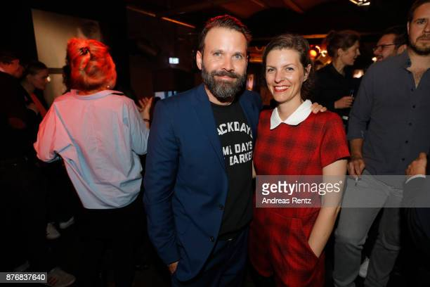 Baran bo Odar and Jantje Friese attend the after party to the premiere of the first German Netflix series 'Dark' on November 20 2017 in Berlin Germany
