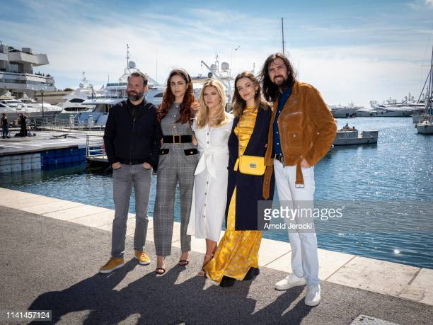 Baran Bo Odar, Miriam Leone , Katheryn Winnick, Emma Mackey and Robin Coudert attends the Jury photocall on day five of the 2nd Canneseries...