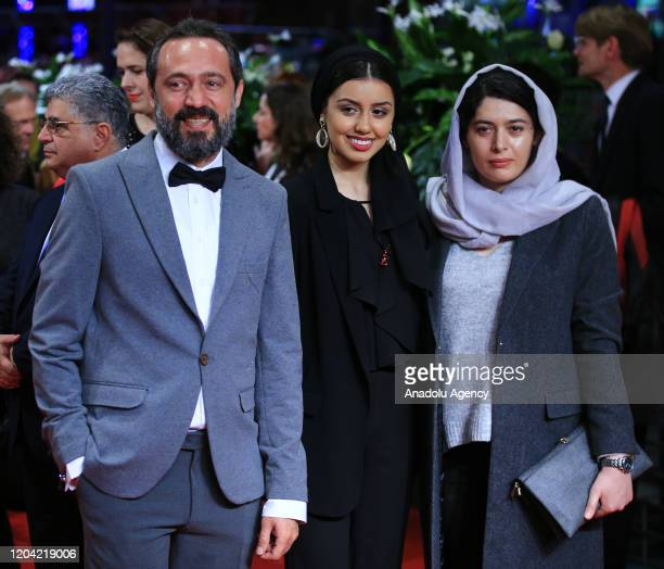 Baran Rasoulof attends the award ceremony of 70th Berlinale International Film Festival in Berlin, Germany on February 29, 2020.