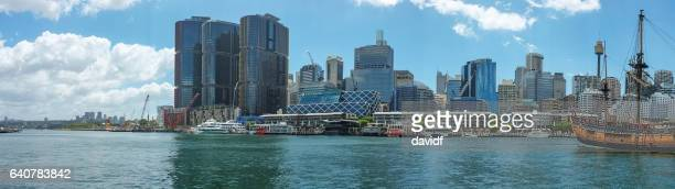 Barangaroo and Darling Harbour Sydney Australia